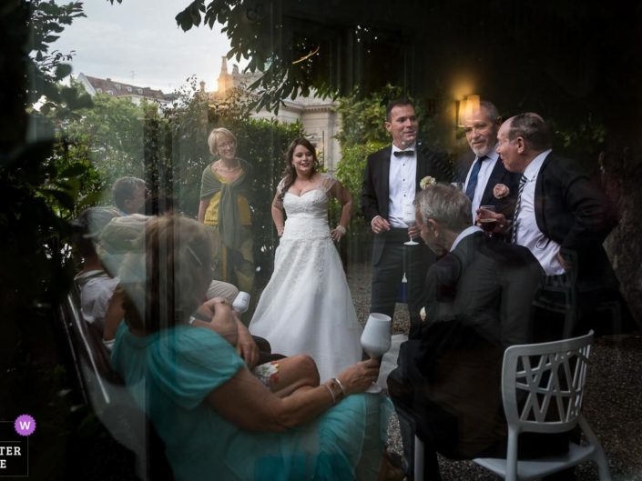 photographe mariage vin d'honneur quai sturm