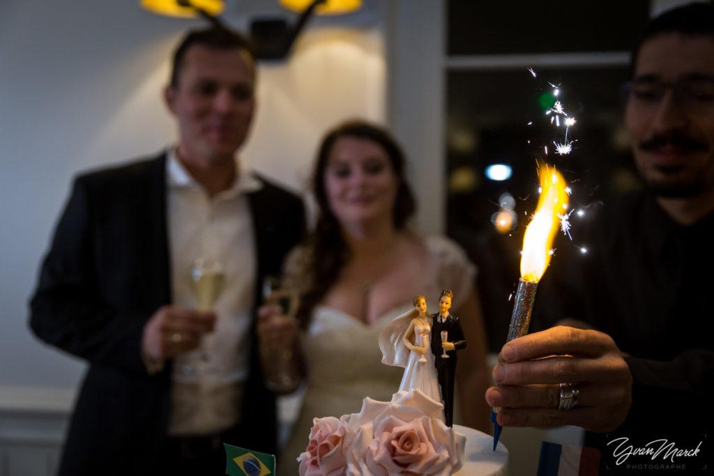 Soirée à la villa Quai Sturm le gateau mariage franco-brésilien à la villa quai sturm par yvan marck photographe de mariage à strasbourg Alsace