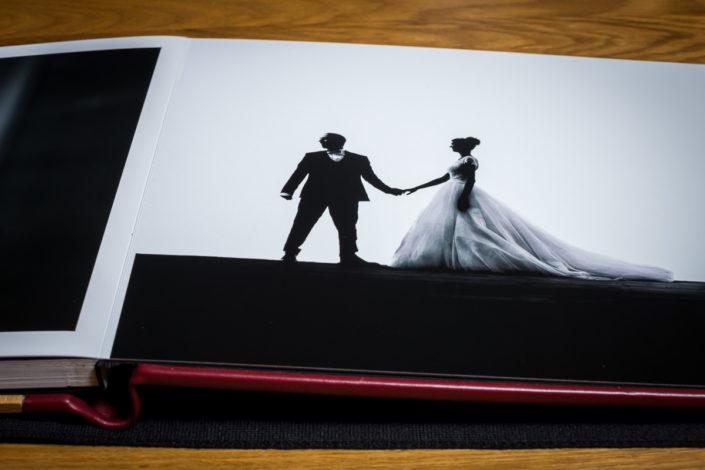 papier soft touch album photo mariage