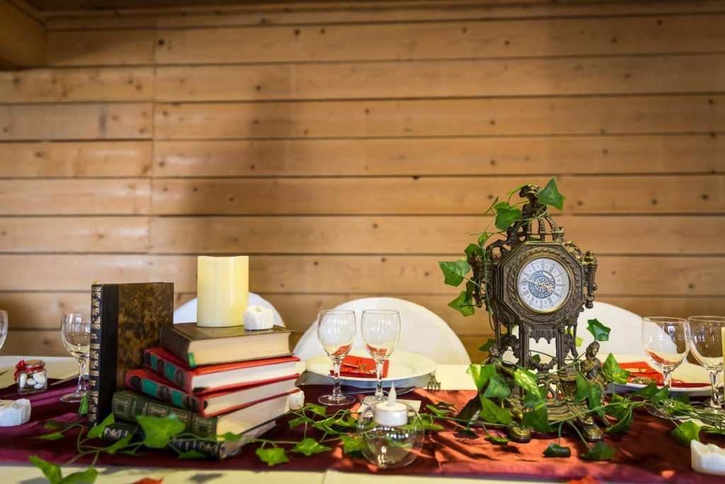 deco de table mariage conte de fée  table des mariés
