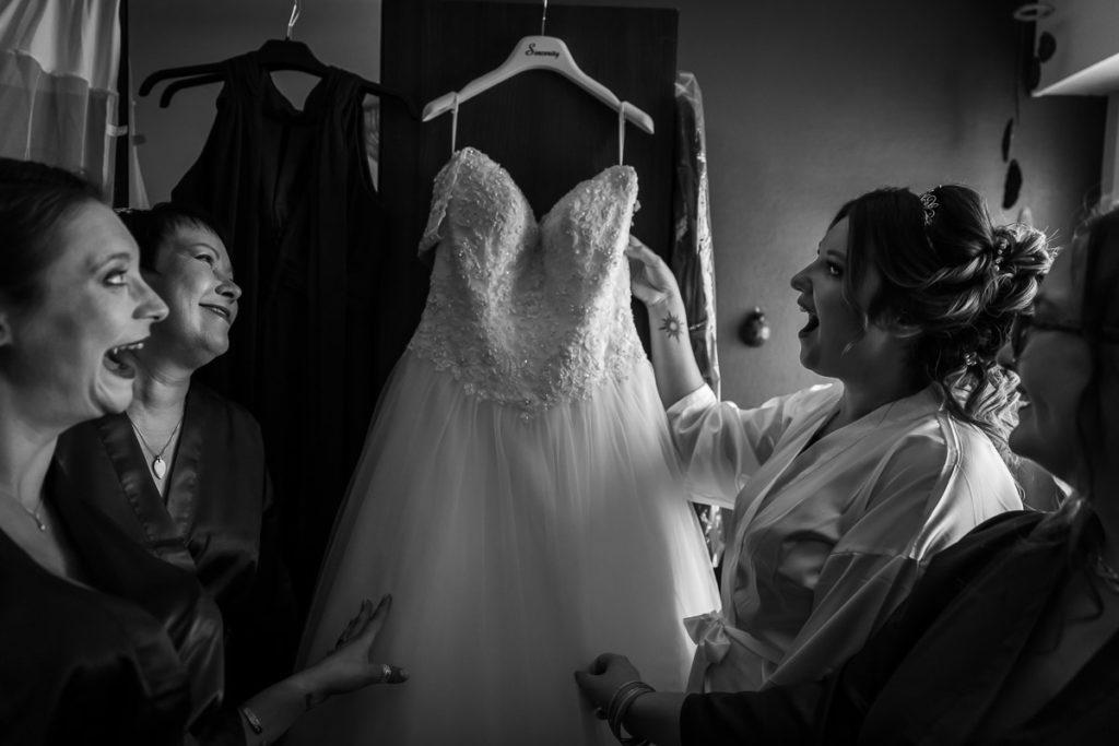 decouverte robe conte de fée mariee preparatifs