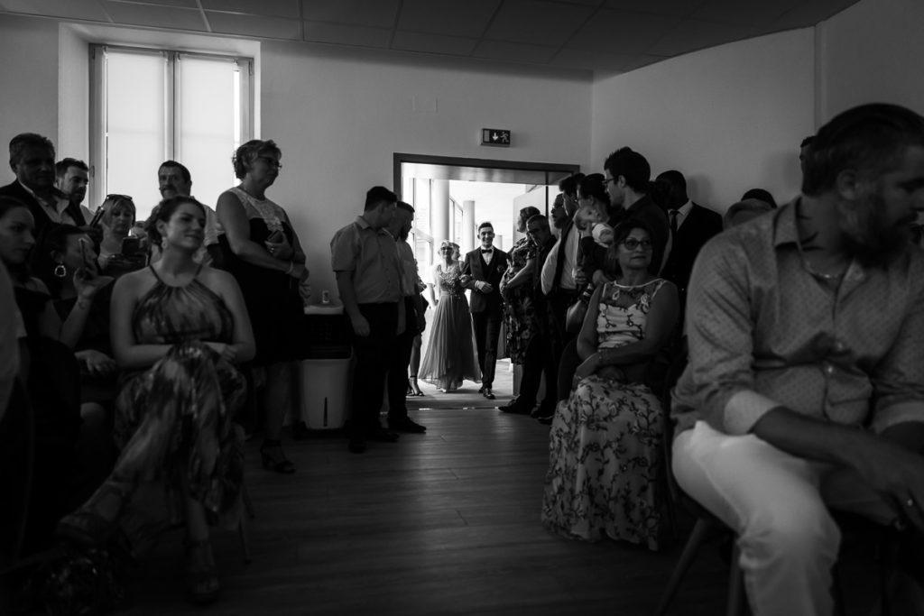 entree du marie mariage civil mairie