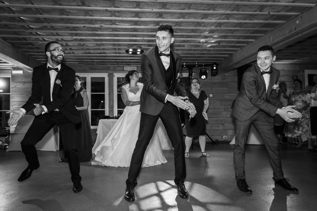 danse des temoins mariage