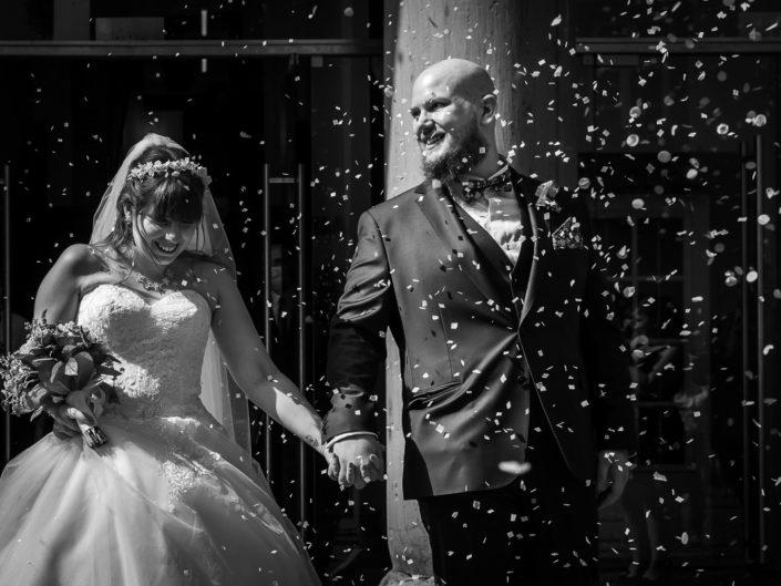 sortie mairie couple photographe mariage