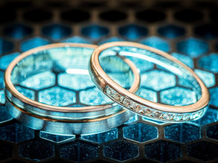 alliances mariés détail photographe