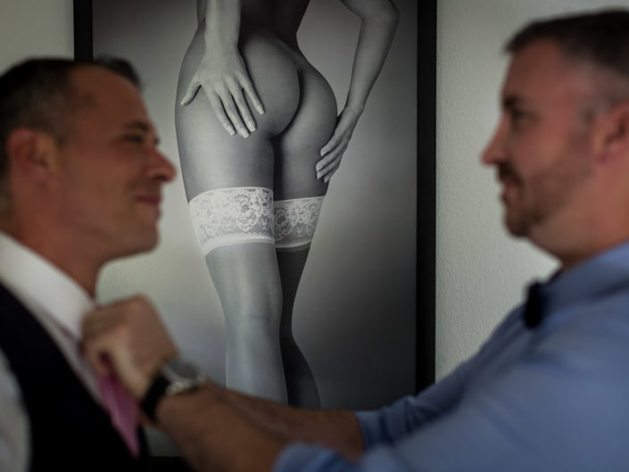 preparatif mariage poster sexy