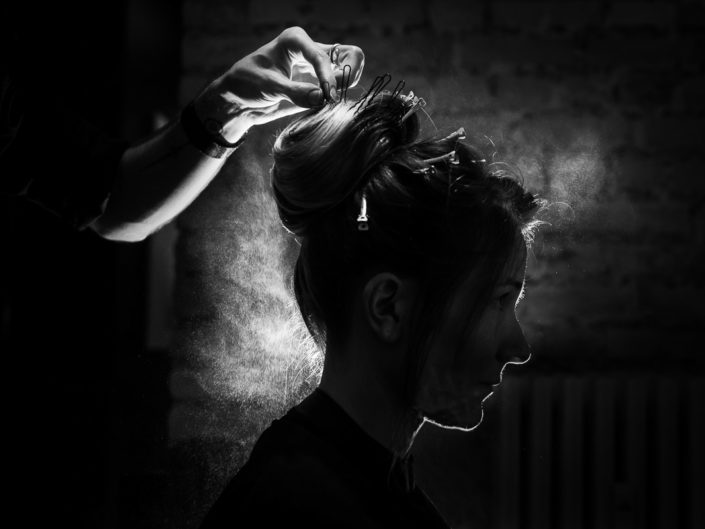 mariage coiffure photo detail