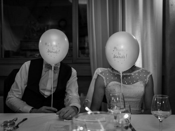 photo fun mariage ballon