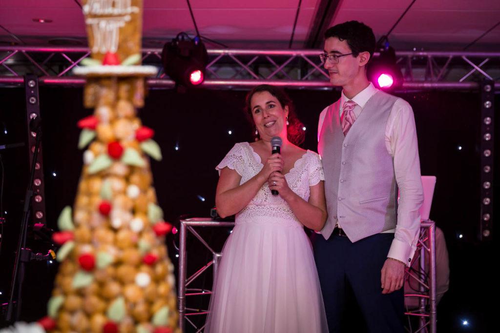 discours des mariés mariage juif château de l'ill