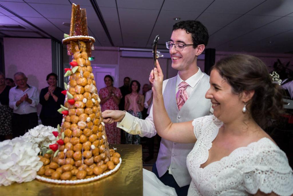 le gateau mariage juif château de l'ill