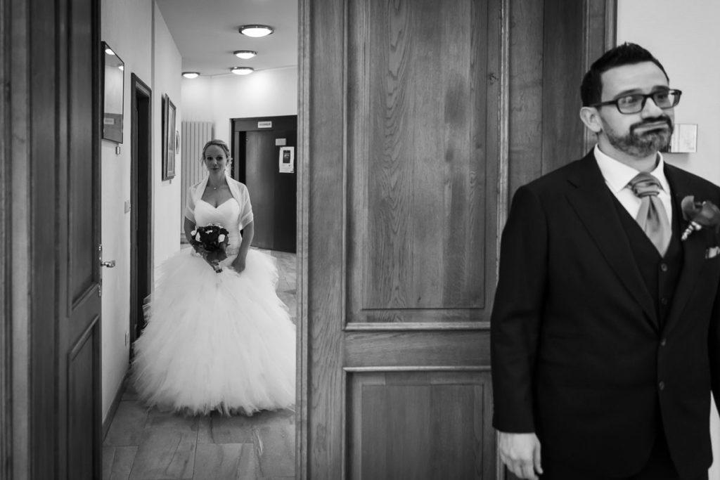 decouverte de la robe mariée