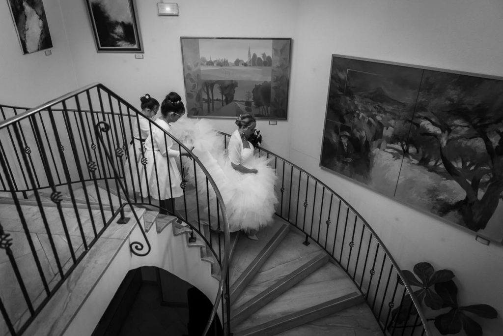 escalier mairie eckbolsheim descente de la mariée