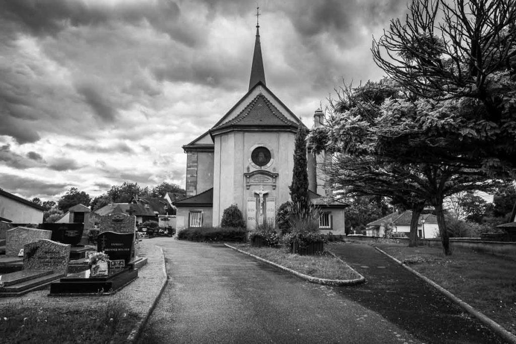 veglise protestante d'eckbolsheim