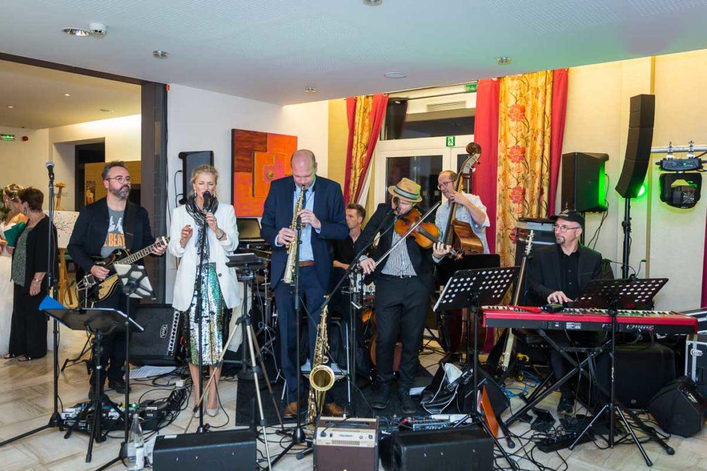 groupe orchestre soirée mariage