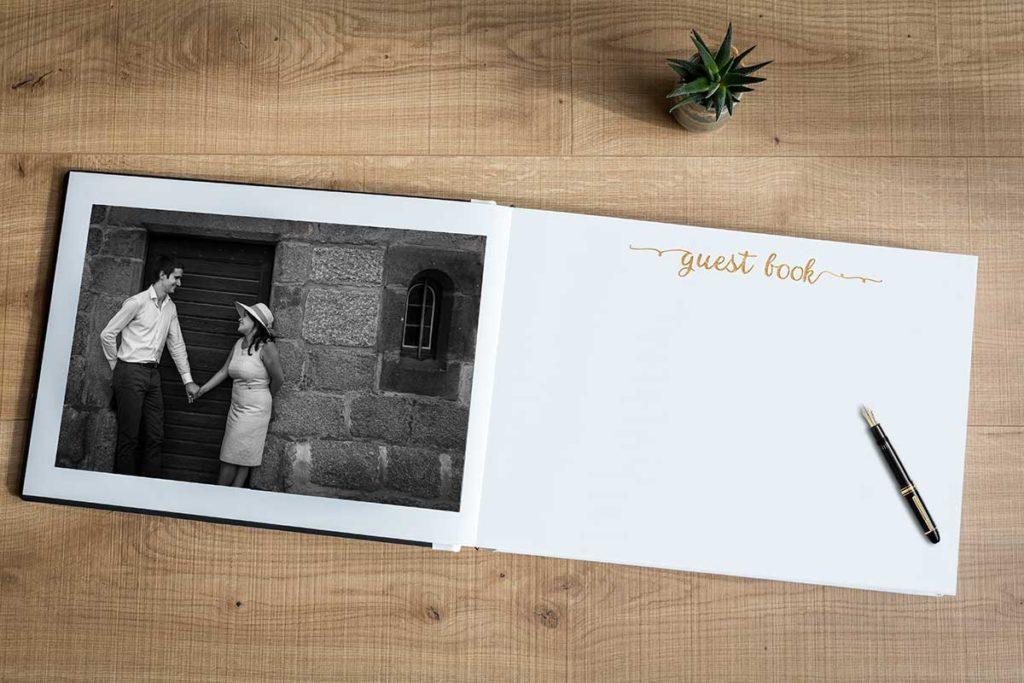 Un livre d'or original pour votre mariage