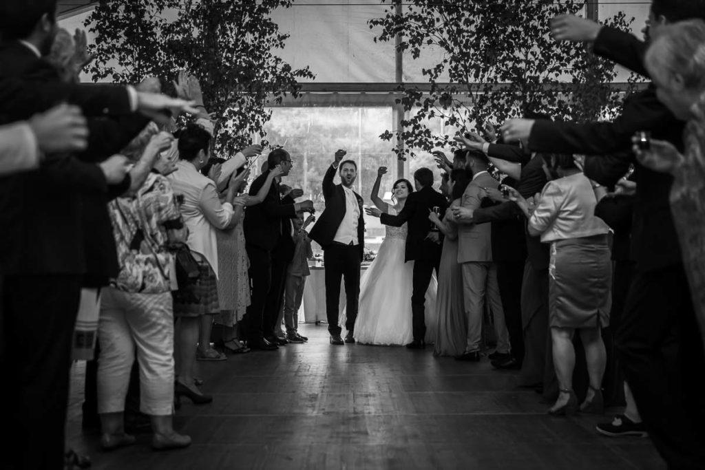 entrée des mariés salle soirée