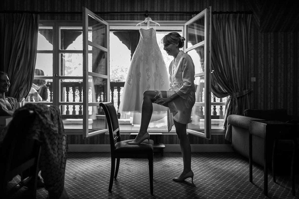 préparatifs de mariage au château de l'Ill à Ostwald