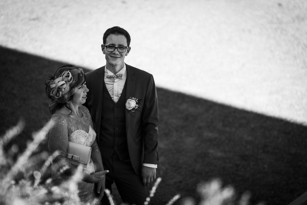 arrivé marié cérémonie laique