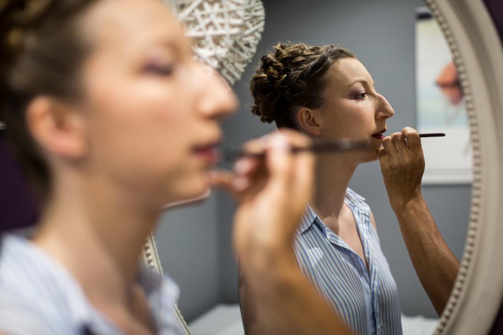 maquillage mariée à Quint'essence Westhoffen