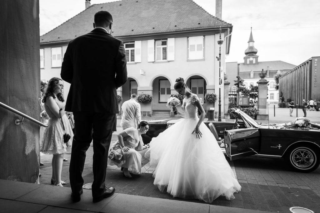 mariage alsace ceremonie brumath marié et mariée photographe mariage